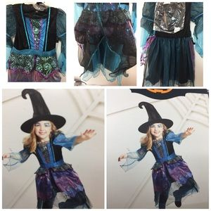 Other - Myster Witch Girls Halloween Costume  new!!